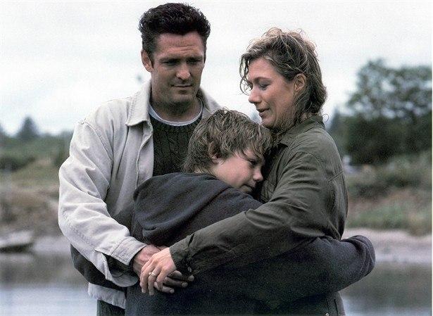 Jesse con sus padres adoptivos