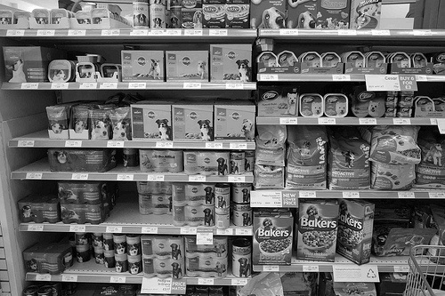 dog food grocery store